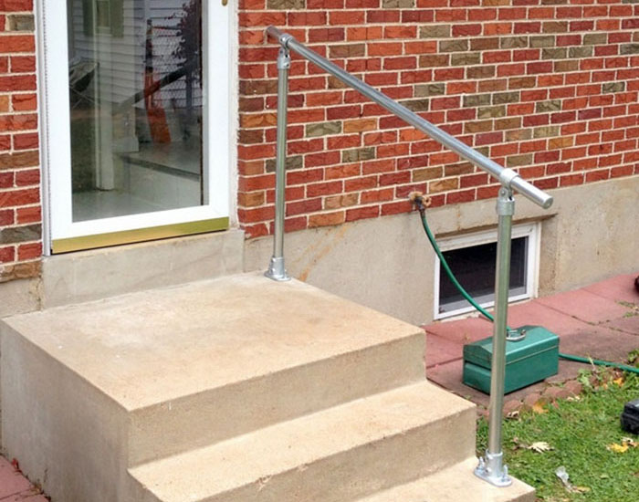 handrail idea for your home